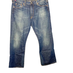 Lucky Brand Relaxed 5 Pocket Bootleg  Size 33
